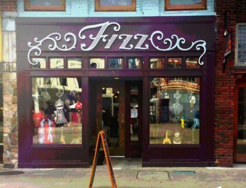 FIZZ Boutique. 27 Market Square. WUTK T-Shirts for sale.