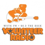 WUTK 90.3 THE ROCK Logo
