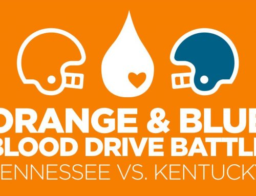 Orange vs. Blue Blood Drive MEDIC Regional Blood Center