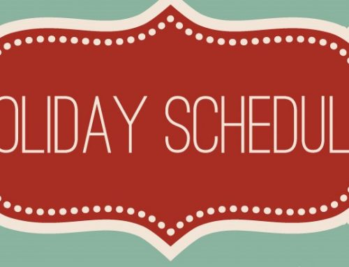 Holiday Schedule for WUTK